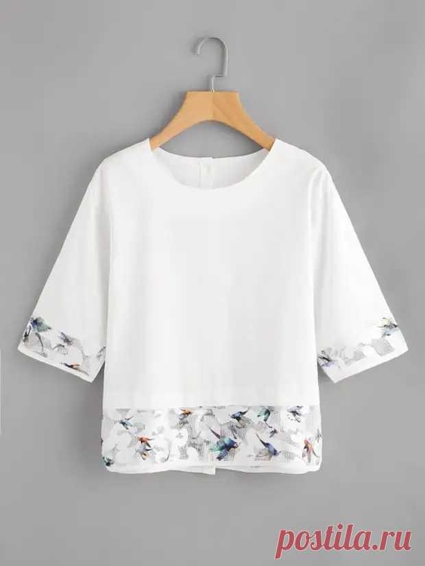Про футболки: шьём и переделываем - Сделай сам - медиаплатформа МирТесен