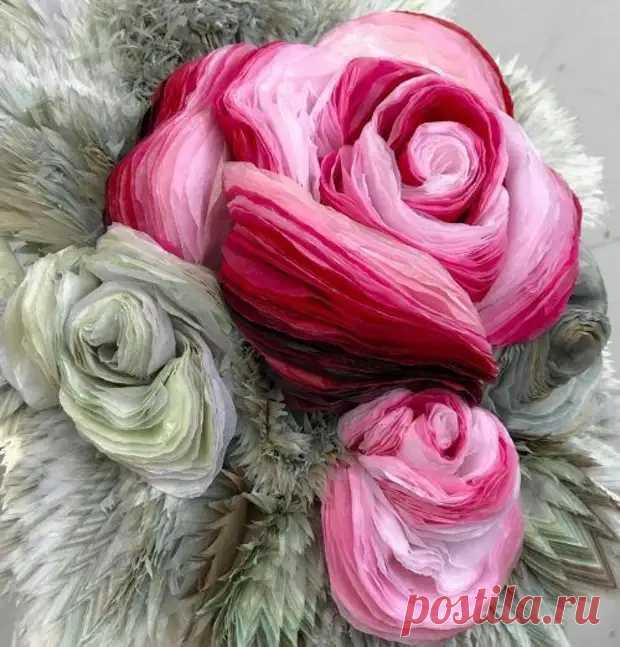 Невероятные бумажные цветы Марианны Эриксен Скотт-Хансен - Сам себе мастер - медиаплатформа МирТесен