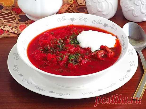 Секрет вкусного украинского борща в правильной зажарке - Вкус жизни - медиаплатформа МирТесен