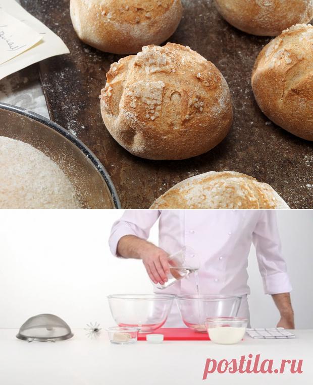 Пшенично-цельнозерновые булочки рецепт – французская кухня: выпечка и десерты.