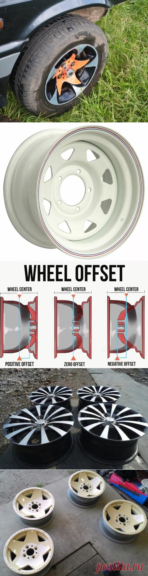 Диски арбузы на ВАЗ: подбор размеров и варианты дизайна