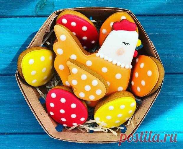Пасхальные пряники: рецепт вкусных и красивых лакомств к празднику