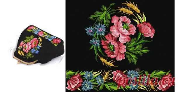 Сумка бал цветов - Домоводство - медиаплатформа МирТесен
