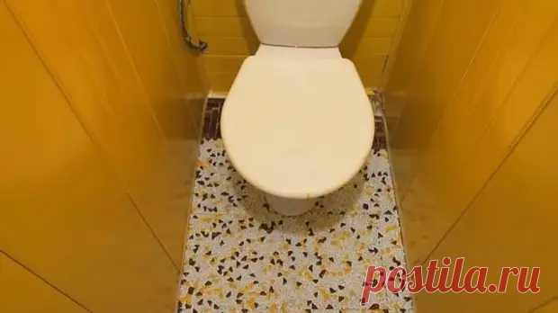 Бюджетный ремонт в старом хрущёвском туалете - Самоделкино - медиаплатформа МирТесен