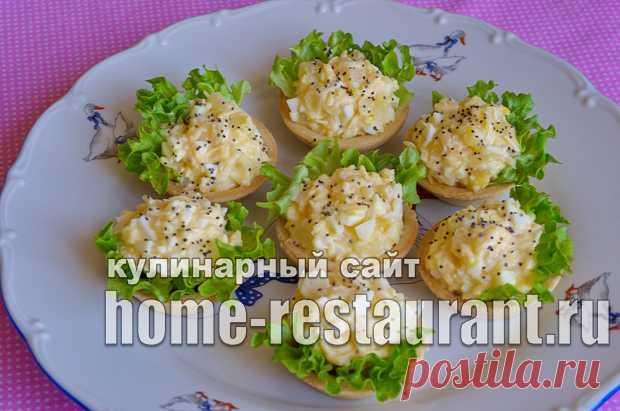 Начинка для тарталеток с ананасом и сыром - Домашний Ресторан