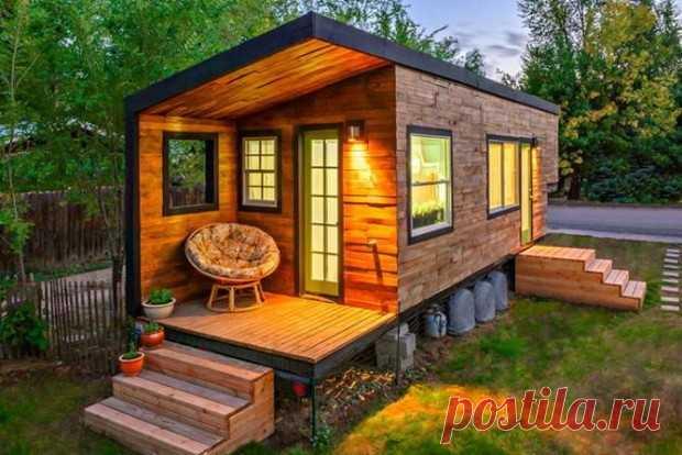 Маленькие домики, в которых хотел бы жить каждый