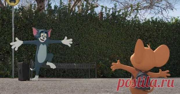 """""""Том и Джерри"""" возвращаются: первый трейлер нового анимационного фильма 2021 года"""