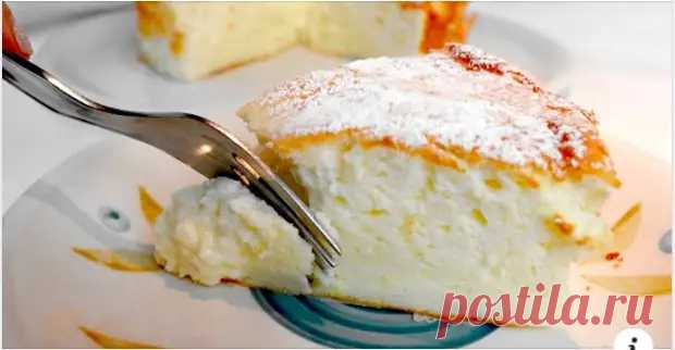 Потрясающий пирог на йогурте из 4-х яиц. Вкуснее шарлотки! - Вкусные рецепты - медиаплатформа МирТесен