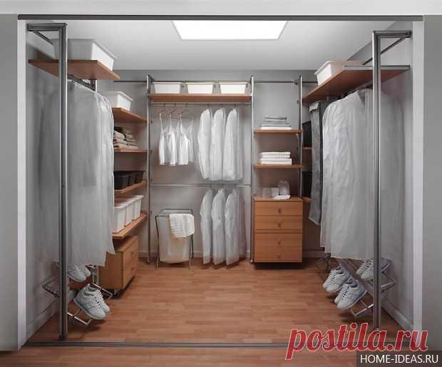 гардеробные комнаты дизайн проекты 3