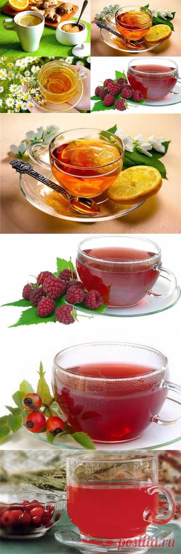 (+1) - Простуда. Лечим простуду чаем   КРАСОТА И ЗДОРОВЬЕ