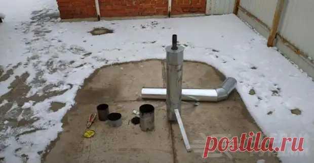 Как сделать мини печку для обогрева теплицы весной