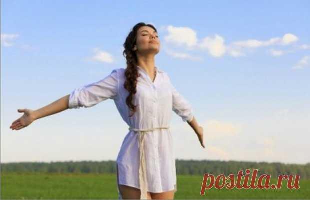 Упражнения для улучшения вентиляции легких.