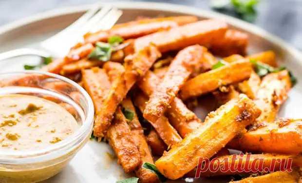 Заменяем картошку фри полезными гарнирами: жарим тыкву, морковь и цукини - Steak Lovers - медиаплатформа МирТесен