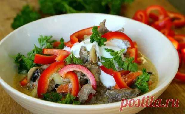 Моментальный суп: просто собираем в тарелке ингредиенты и заливаем бульоном - Steak Lovers - медиаплатформа МирТесен