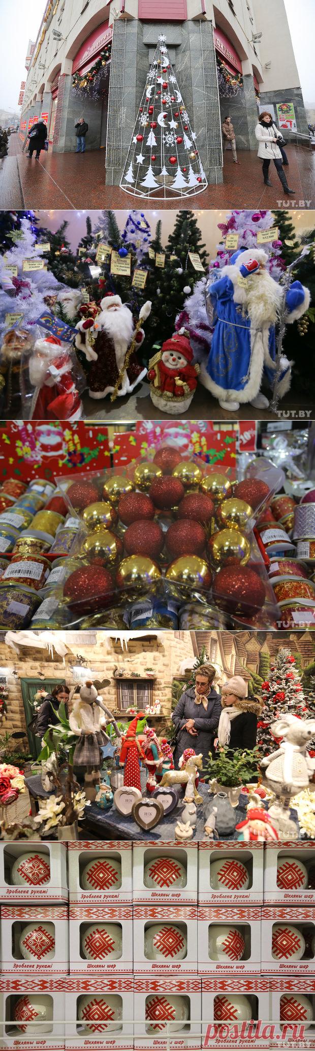 Где и за сколько купить елочные игрушки в Минске: от 5 тысяч за пластмассу до 430 за золото и стразы