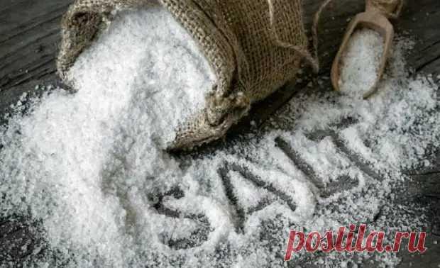 А вы посыпаете солью полы на кухне? Как правильно и для чего это нужно делать - Цветочки - медиаплатформа МирТесен