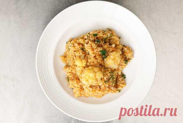 Рис с треской и цветной капустой, пошаговый рецепт с фотографиями – итальянская кухня: основные блюда. «Еда»