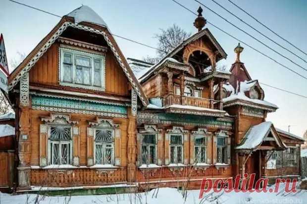Какие секреты хранит купеческий терем XIX века в Нижнем Новгороде и как он сохранился до наших дней - Квартира, дом, дача - медиаплатформа МирТесен