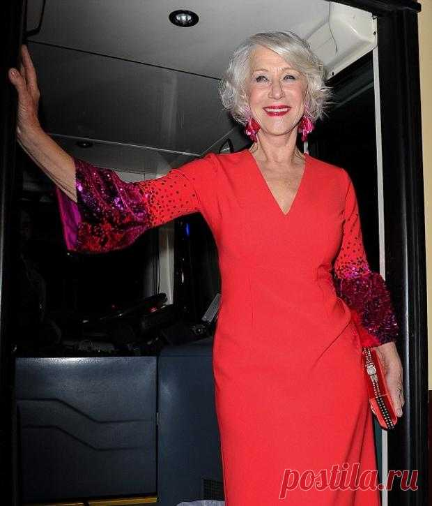 Helen Mirren: the 72-year-old actress showed to admirers an excellent figure - - Show biz on Joinfo.ua