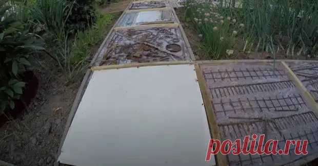 (32) Дешево и сердито: как сделать садовую дорожку на даче - Наша дача - медиаплатформа МирТесен