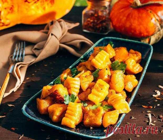 Тыквенные ньокки: как приготовить яркое и вкусное блюдо