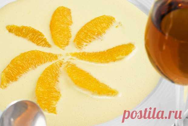 Сабайон с апельсином, пошаговый рецепт с фотографиями – итальянская кухня: выпечка и десерты. «Еда»
