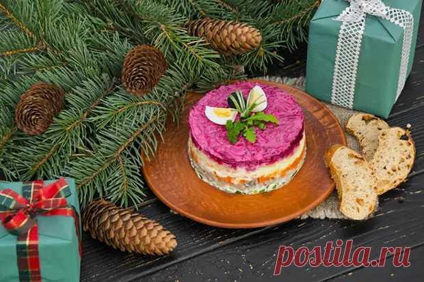 Традиционные блюда для новогоднего стола - БУДЕТ ВКУСНО! - медиаплатформа МирТесен