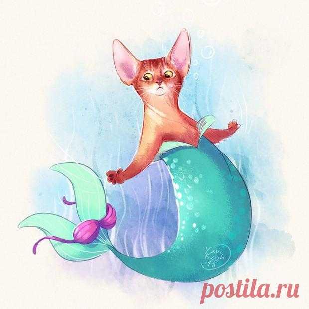 Топ-7 фото котов: как бы они выглядели если бы были героями диснеевских мультфильмов