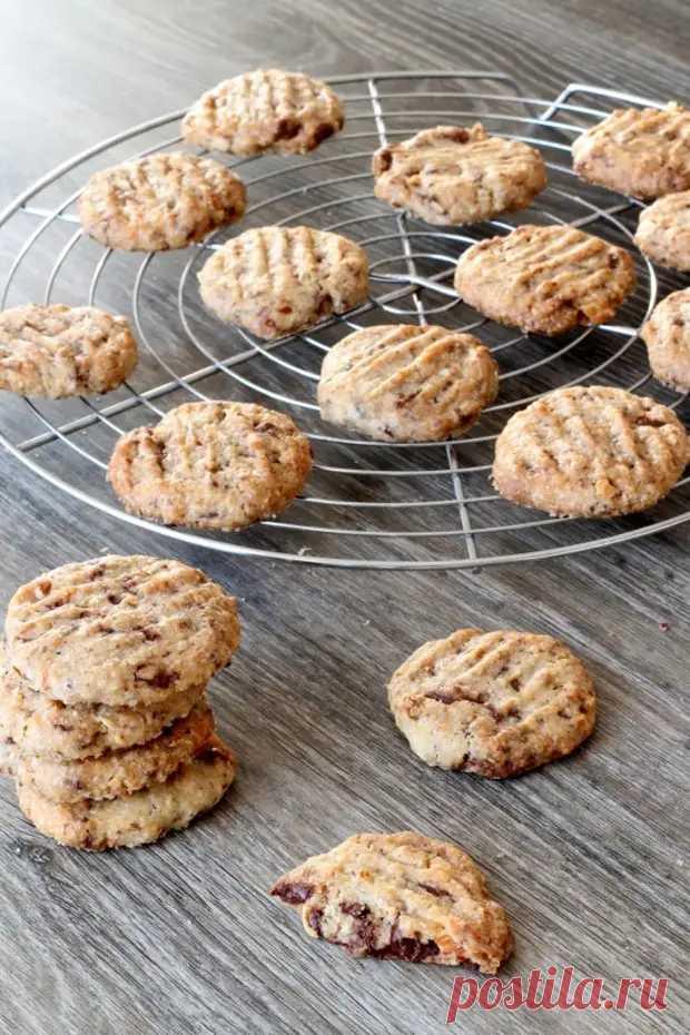 Печенье с ореховой шоколадной крошкой - БУДЕТ ВКУСНО! - медиаплатформа МирТесен
