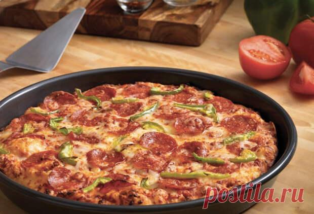 Пицца на сковороде за 5 минут: идеально вкусный рецепт