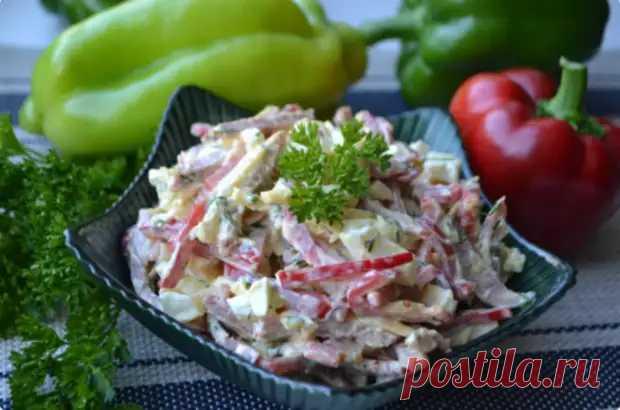 Вкуснейший салат, который я впервые попробовала в гостях. Теперь часто готовлю дома! - Вкусные рецепты - медиаплатформа МирТесен