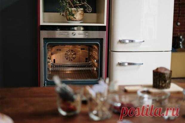 Как легко очистить духовку без химических средств