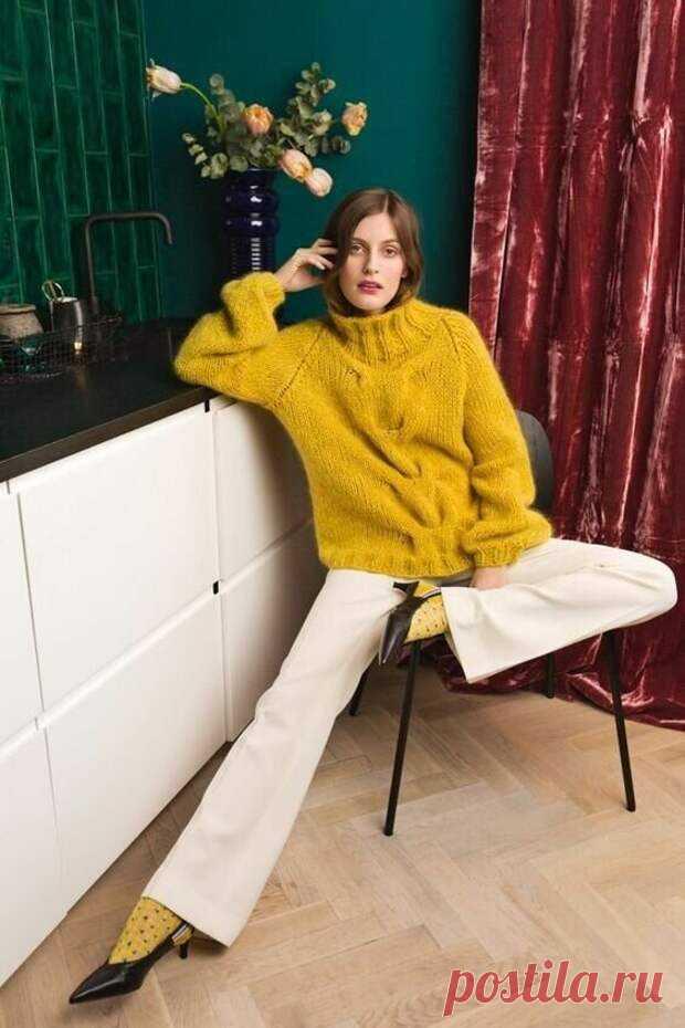 Выбираем цвет для вязаного джемпера. Желтый — не только для детей Желтый цвет считается самым позитивным во всей цветовой палитре. Поэтому его особенно... Читай дальше на сайте. Жми подробнее ➡