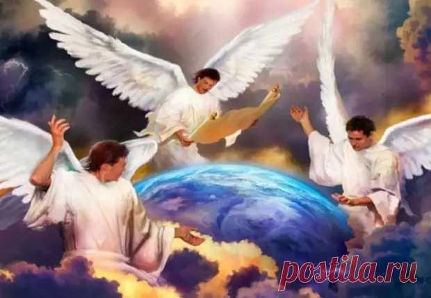 Как с помощью молитвы трем ангелам защититься от зла и болезней... - Познавательный сайт ,,1000 мелочей