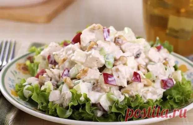 Рецепт интересного салата из простых ингредиентов - Вкусные рецепты - медиаплатформа МирТесен