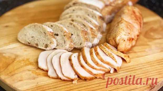 Лучше любой колбасы! Сочная куриная пастрома в духовке, очень нежная и вкусная - Вкусные рецепты - медиаплатформа МирТесен