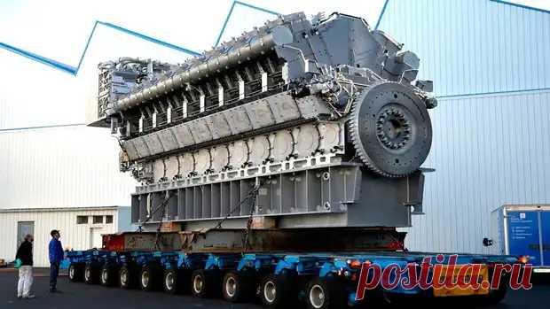 Для чего был построен самый большой ДВС в мире?