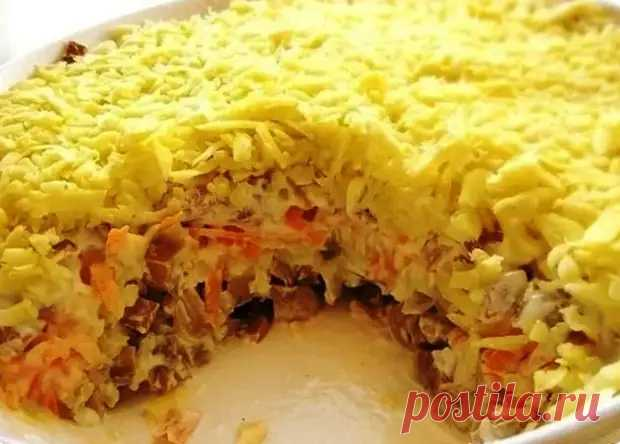 Вкусный салат «Белая ночь», который обожают в моей семье - Вкусные рецепты - медиаплатформа МирТесен