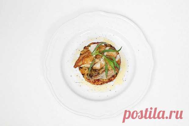Пирог из ризотто с куриной грудкой, пошаговый рецепт с фотографиями – итальянская кухня: основные блюда. «Еда»