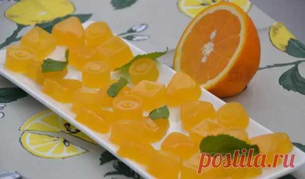 Апельсиновый мармелад на агар-агаре - медиаплатформа МирТесен