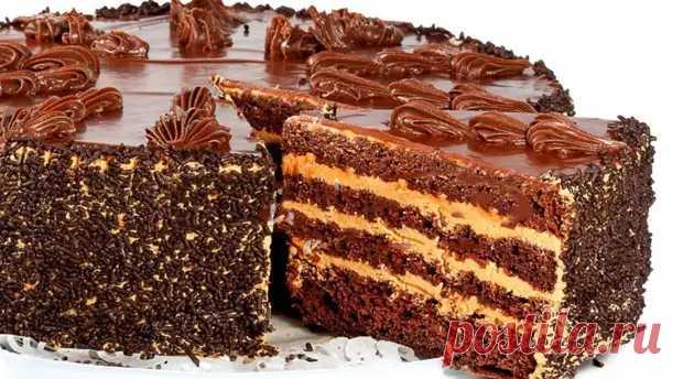 Рецепт нежного шоколадного торта, перед которым не сможет устоять не один сладкоежка - Вкусные рецепты - медиаплатформа МирТесен