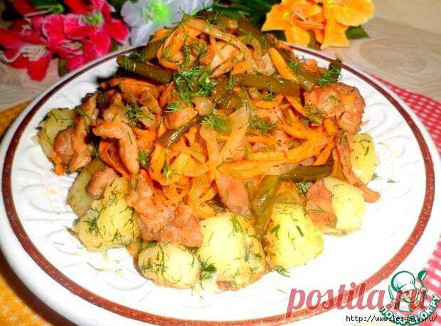 Пикантные стрелки чеснока с курицей и овощами! - Ваши любимые рецепты - медиаплатформа МирТесен.