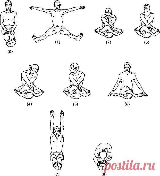 тибетская гимнастика для похудения с картинками состав входят