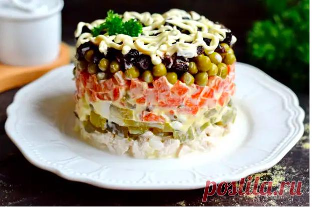«Прага» – классический салат эпохи СССР (по-моему, он вкуснее «Оливье») – БУДЬ В ТЕМЕ