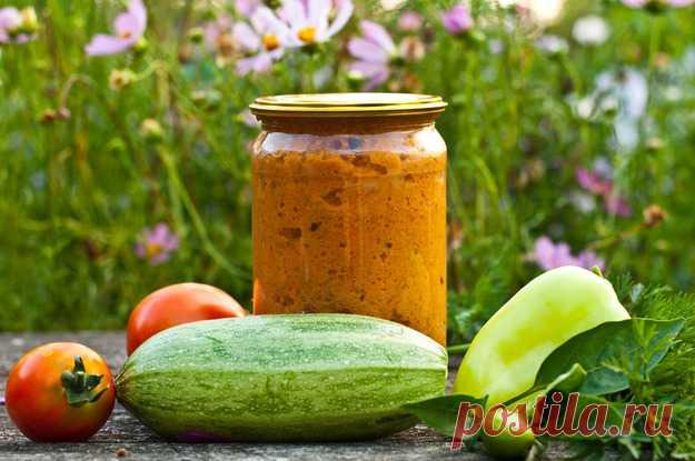 Как приготовить кабачковую икру дома - кулинарный пошаговый рецепт с фото на KitchenMag.ru