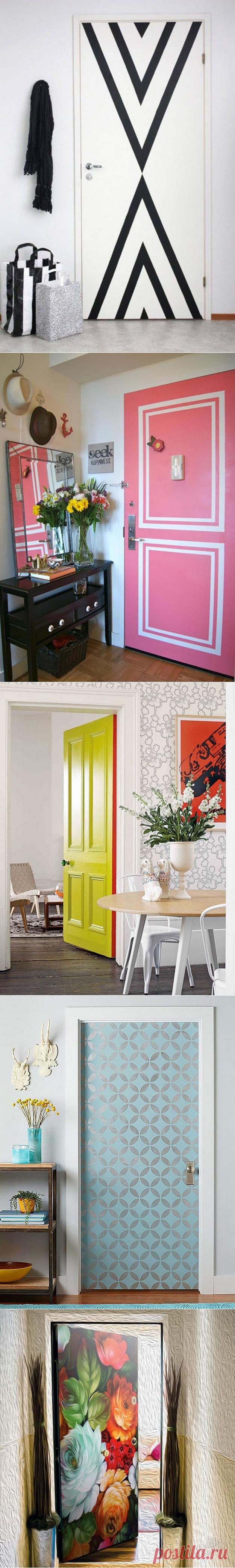 Двери как новые! Реставрация и 7 идей покраски – Своими руками