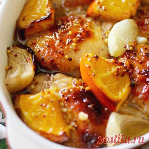 Курица и апельсин — безумно вкусное сочетание! | Хитрости жизни
