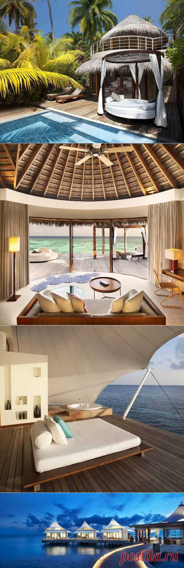 The Retreat Spa W на Мальдивских островах | КрасиВО!!!