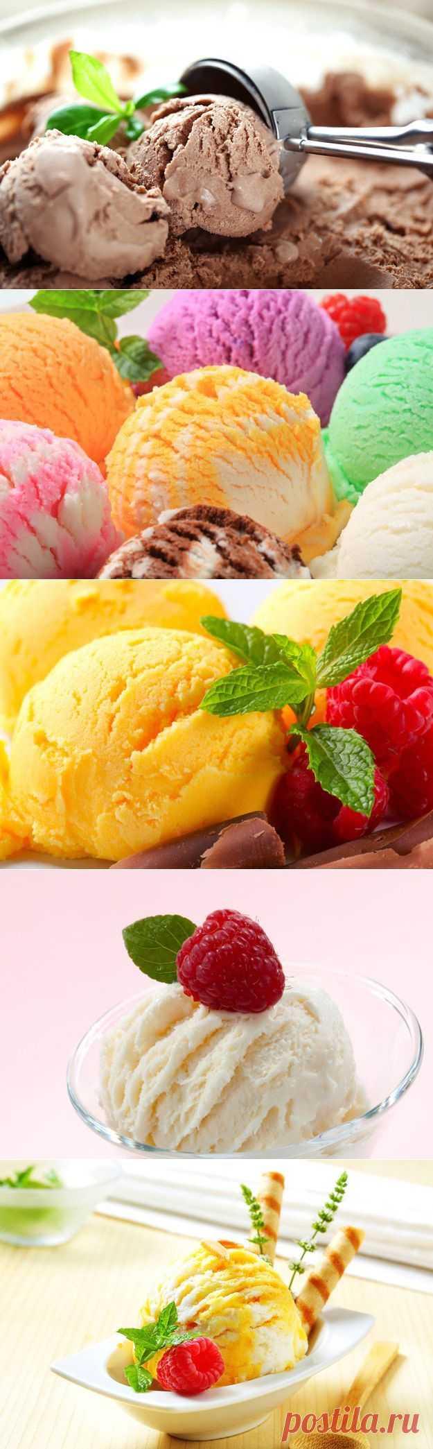 Домашнее мороженое: секреты приготовления