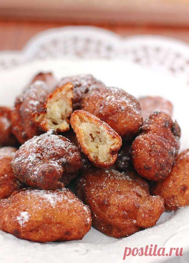 Бананово-кокосовые пончики